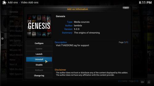 Руководство: Понизьте Genesis 5 до Genesis 4.8.5 для загрузки