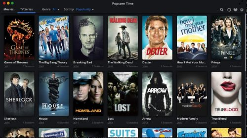 Бесплатные фильмы и телепередачи потокового потока с попкорном Time