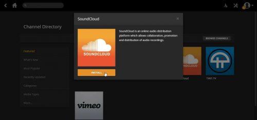 Руководство: Установите Plex SoundCloud Channel на свой сервер Plex