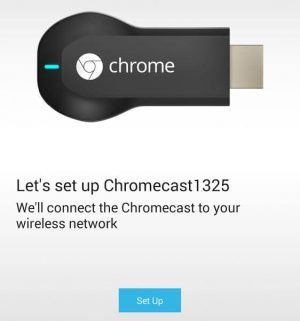 Как настроить Chromecast с помощью телефона или планшета?