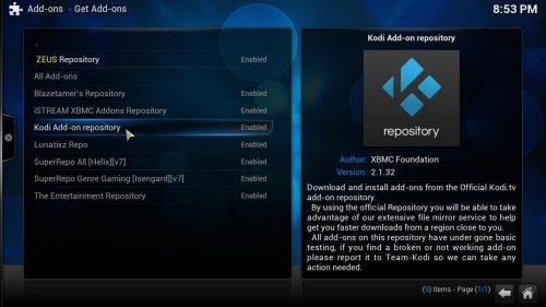 Руководство: Как установить Apple Podcasts Kodi addon