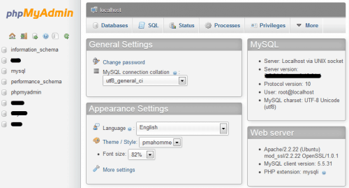 Выпущен phpMyAdmin 4.2.8: установка и обновление