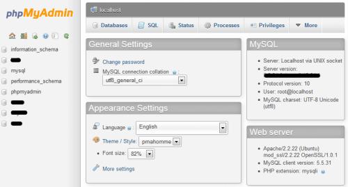 Выпущена phpMyAdmin 4.1.4: установка и обновление