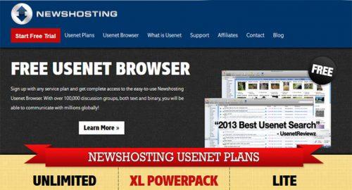 Дешевая распродажа: NewsHosting Безлимитный Usenet