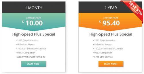 UsenetServer объявляет Usenet с бесплатным VPN - Дешевая распродажа