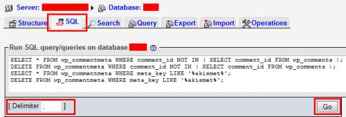 Как очистить таблицы wp_commentmeta и wp_postmeta?