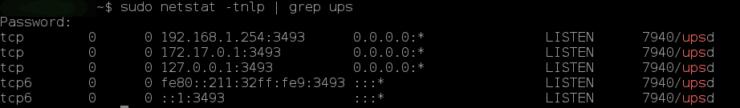 Датчик NUT на Home Assistant для контроля ИБП, подключенного к Synology NAS