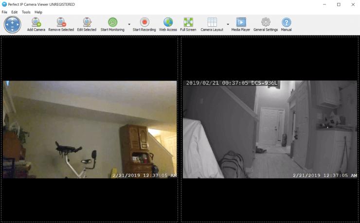8 лучших бесплатных приложений для камер Wi-Fi для мониторинга домашней безопасности на настольных ПК - 2019