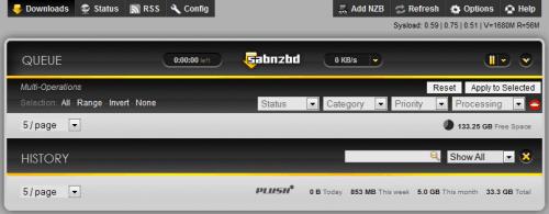 Выпущено SABnzbd 0.7.13: установка и обновление