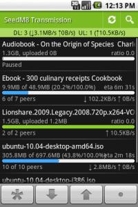 Четыре бесплатных приложения для Android для удаленного мониторинга и управления торрентами, NZB и другими загрузками