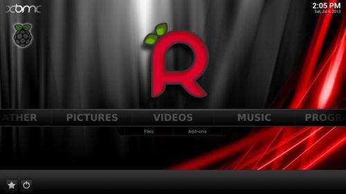Выпущено июльское обновление Raspbmc - 2014