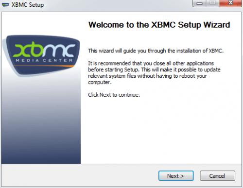 Как установить XBMC на Windows?