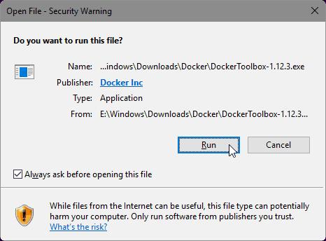 Руководство: Установить Docker на Windows 7, 8 и 10 с помощью Docker Toolbox?