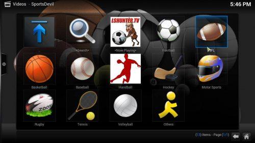 Руководство: Как установить аддон Kodi SportsDevil
