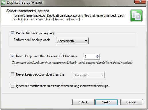 Безопасное резервное копирование файлов в практически неограниченное удаленное / облачное хранилище бесплатно: с помощью SkyDrive и Duplicati