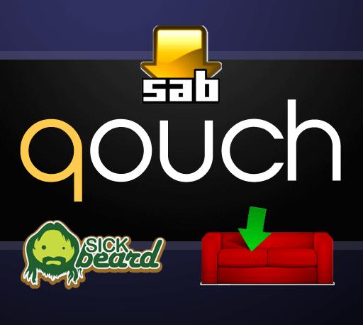 Настройте приложение Qouch для управления SABnzbd, CouchPotato и Sick Beard