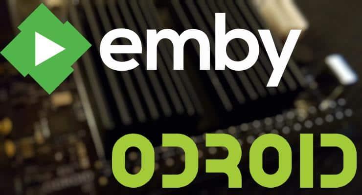 Настройка Emby Server с Odroid C2 - альтернатива Plex и Kodi