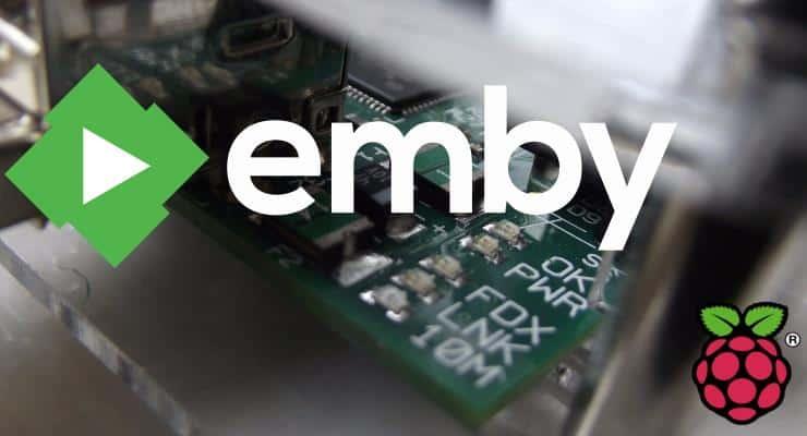 Настройка Emby Server с Raspberry PI 3 - Сервер потоковой передачи мультимедиа
