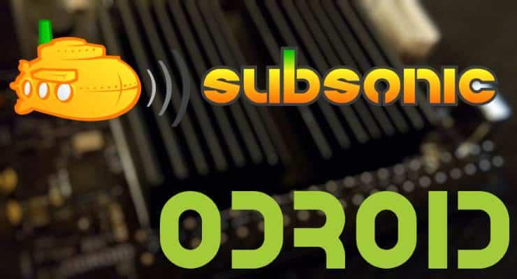 Настройка Subsonic с Odroid C2 - Сервер потоковой передачи мультимедиа