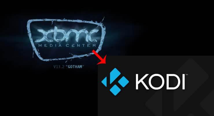 Как обновить XBMC до Kodi Media Center?