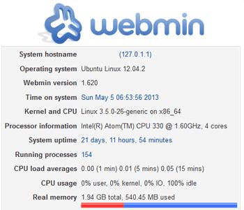 Выпущен Webmin 1.670: установка и обновление