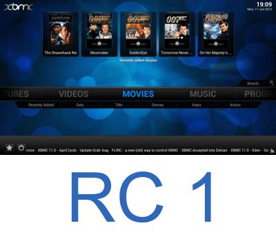 XBMC 12 Frodo - RC 1 выпущен