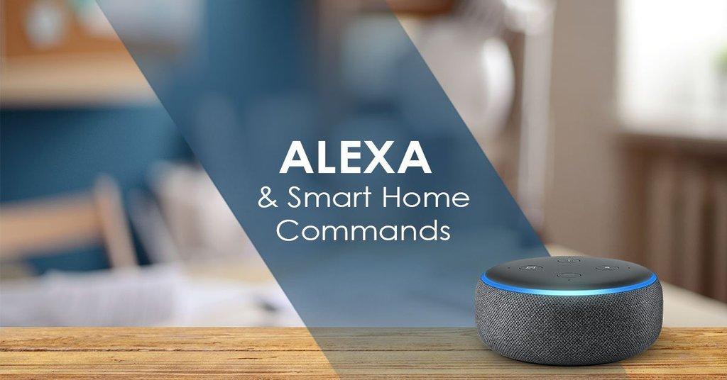 Как Alexa использует команды умного дома? - Умный дом