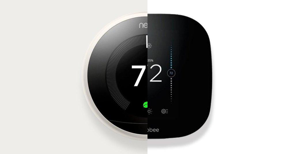 Ecobee против Nest: умные термостаты