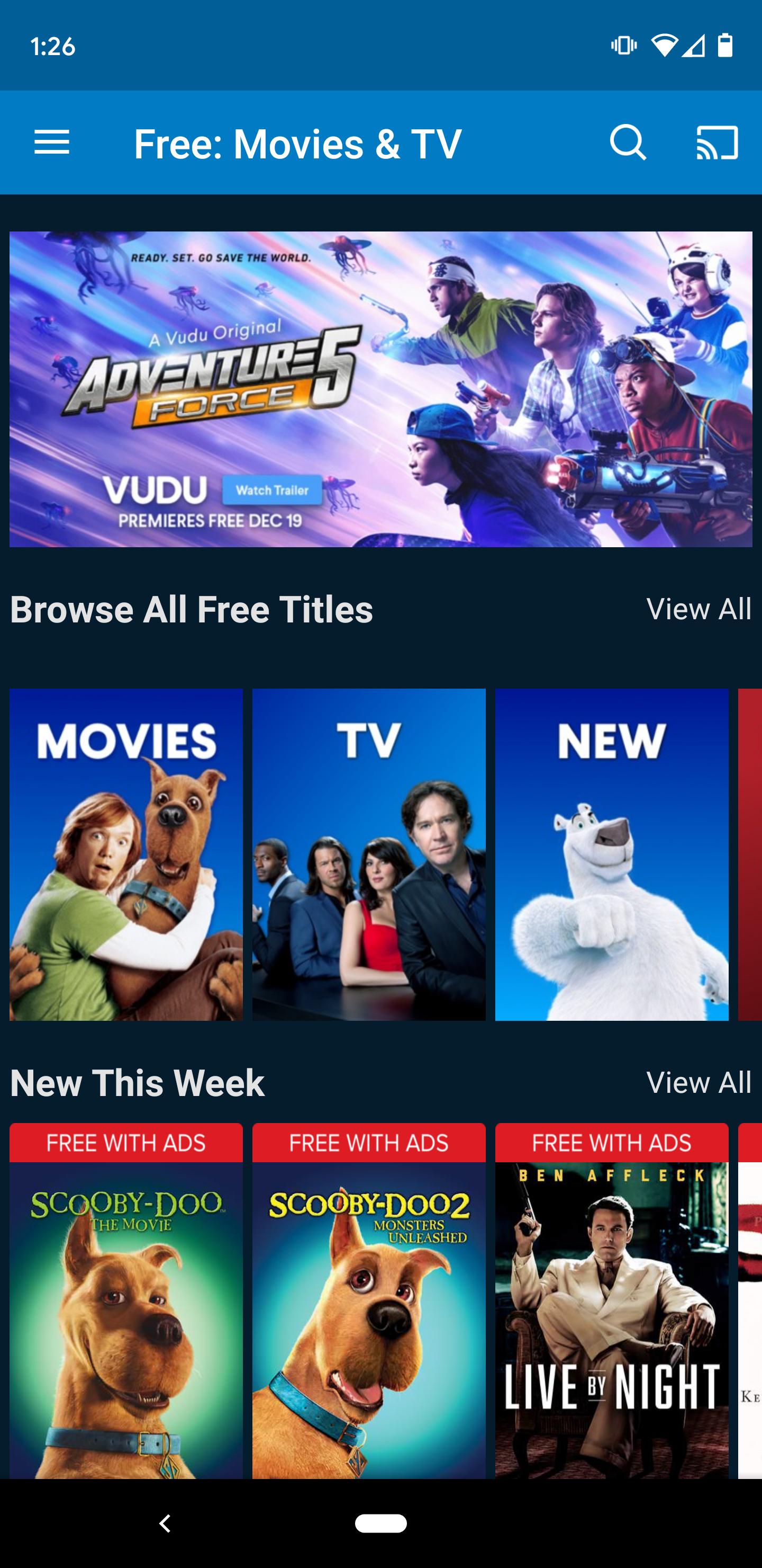 Обзор Vudu: бесплатные потоковые фильмы и телепередачи от Walmart