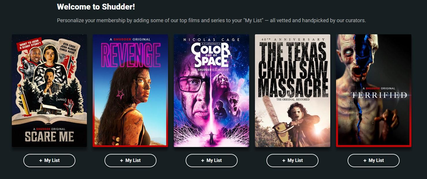 Обзор Shudder: Служба потокового вещания фильмов ужасов и ужасов AMC