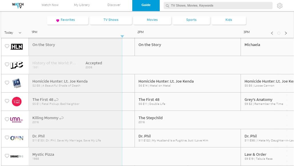 Обзор AT&T WatchTV: самая дешевая служба потокового телевидения
