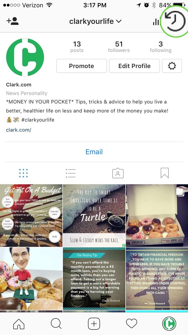 Новая функция Instagram позволяет скрыть смущающие старые фотографии