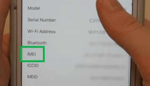 Как быстро найти номер IMEI вашего телефона