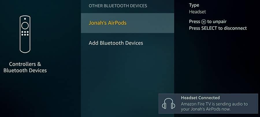 Как использовать Bluetooth-динамики с Amazon Fire TV Stick