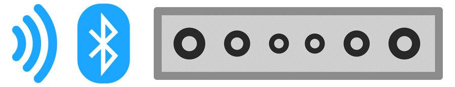 Как подключить саундбар к телевизору с помощью Bluetooth