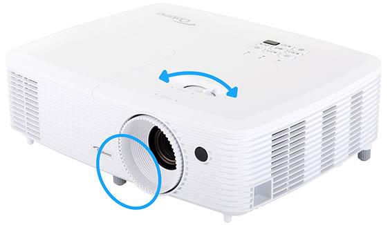 Можно ли использовать проектор под углом?