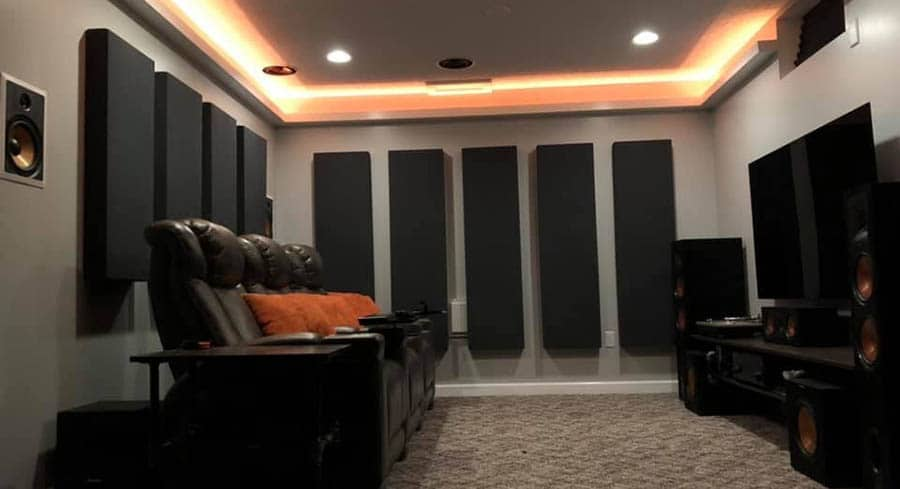 Сколько акустических панелей нужно для комнаты?