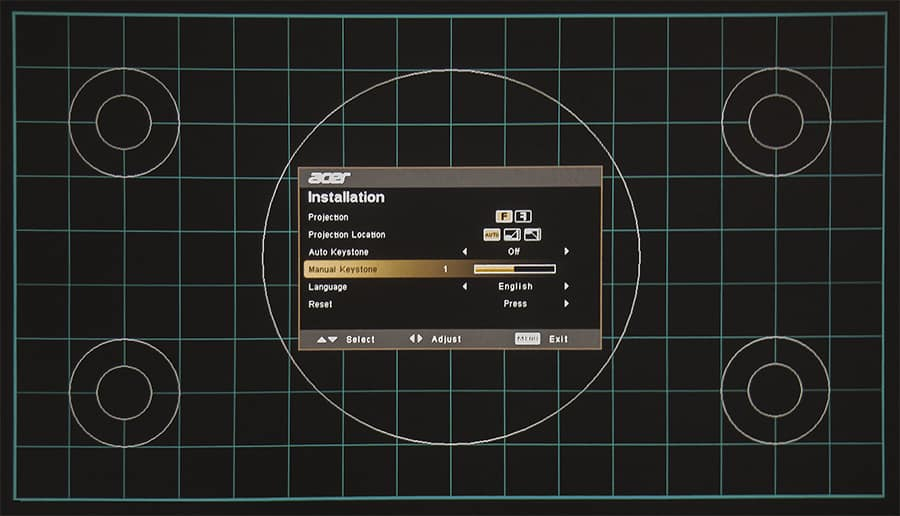 Как настроить изображение на проекторе (шаг за шагом)